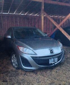 2011 Mazda 3 Low km