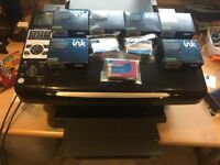 Epsom Stylus DX 8450 Printer/ scanner with spare ink cartridges