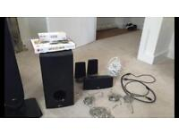 LG blu ray 3D DVD player and surround sound