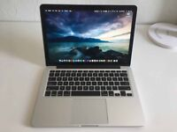 ++ LATEST MACBOOK PRO RETINA 2.9ghz i5/ 8GB/ FLASH SSD/ RECEIPT AND APPLE WARRANTY