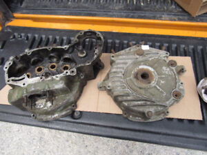 Harley 45 Flathead WLA Engine Cases *Matching Belly Numbers*1942