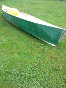 Wooden kayak 100$ if gone Thursday the 17th