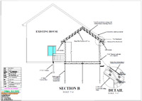 I offer CAD drawings drafting $0.25/Sq.Ft. and Eng.Stamp Service