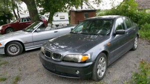 2003 BMW 320 i , $1000 obo, runs great - Project or Parts .as is
