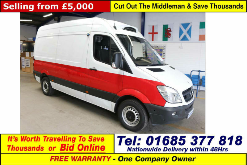 ff1ec141b8 2010 - 60 - MERCEDES SPRINTER 313 2.2CDI MWB HI TOP INSULATED FRIDGE VAN