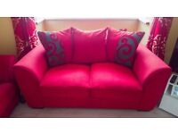 2 Seater and 3 Seater Sofa - £280 ONO Immaculate and comes from a smoke free and pet free home.