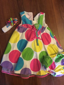 Girls birthday outfit size 24months