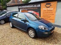 FIAT PUNTO EASY, Blue, Manual, Petrol, 2012