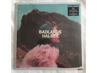 Badlands Halsey Vinyl. Unopened, unused