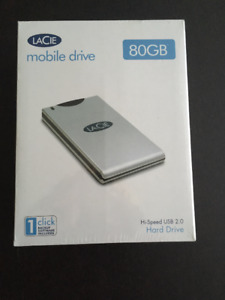 Lacie Mobile Hard Drive 80GB