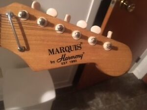 Electric Guitar. Marquis with Mini Amp. Ideal for Beginner.