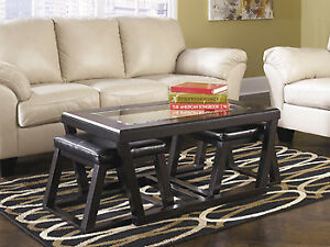 !!! ASHLEY COFFEE TABLE SET SALE !!!