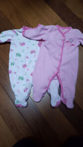2 Sleepers Size 3 Months