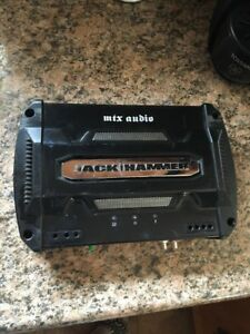 Jack Hammer 2 channel amplifier JH202