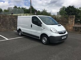 2008 WHITE VAUXHALL VIVARO 2.0 Cdti DONE 128k MILES NEW 12 MONTHS MOT LIKE TRAFIC AND PRIMASTAR