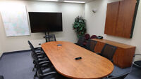 Professional Boardroom Rental - low hourly rate!
