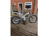 Sherco 290 trials bike