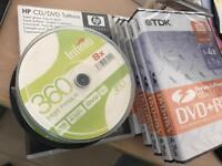 Blank DVD + RW DL x 25 8.5 GB, 5 x DVD+ RW 4.7 GB