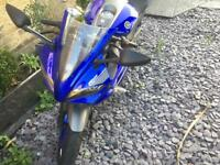 Yamaha r125 2014 Blue 7k miles on clock