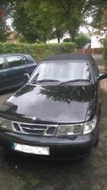 Saab 9-3 Convertible 2001 model. Genuine 78,000 miles, 3rd owner. Reluctant sale
