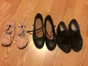 Bloch Ballet, Tap and Jazz Shoes