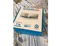 Hitachi G raid dual drive storage system 1TB