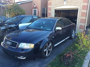 AUDI A6 S6 RS6  ALLROAD PARTS 97-04