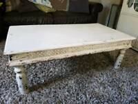 Shabby Chic Indian Style Coffee Table