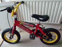 Kids TONKA BMX bicycle 12 inch frame bike