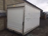 Storage Container, Luton box, shed, horse shelter