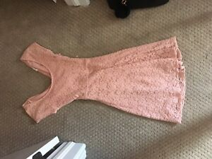 Garage brand new condition pink dress