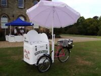 Original Pashley old fashion Ice Cream Tricycle, bicycle, Trike, Stop Me and Buy One Bike