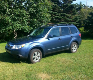 2012 Subaru Forester Convenience Package SUV,