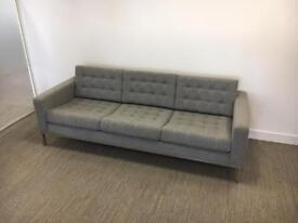 3 Seater Italian Sofa - {Perfect Condition)