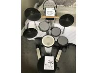 Roland Electronic Drum Kit, Roland Amplifier and Drumsticks