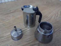 Italian coffee maker, Bialetti. For all hobs, induction included.