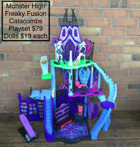 Halloween Monster High Toys: Doll Houses, Dolls & Acessories