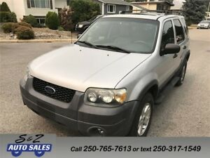 2005 Ford Escape 4WD Limited