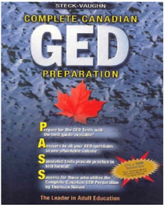 GED textbook - Like new