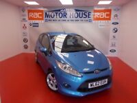Ford Fiesta ZETEC S TDCI (£20.00 ROAD TAX) FREE MOT'S AS LONG AS YOU OWN THE CAR!!! (blue) 2012