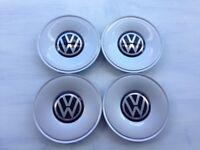 VW Volkswagen centre caps