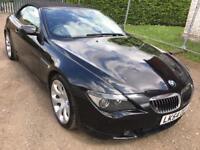 BMW 6 Series 4.4 645Ci Convertible 2dr Petrol Auto SPORT SEAT SAT NAV