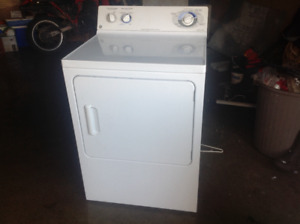 Gas dryer GE first to pick up gets it