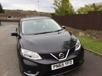 2015 Nissan Pulsar N tech 1.6 Bluetooth, one lady owner, low milage, good condition.
