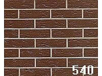 18 BRICK-TILE-PANELS NF540 colour Brown Deep Pitted