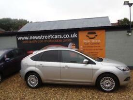 FORD FOCUS 1.8 TITANIUM, Silver, Manual, Petrol, 2008 SERVICE HISTORY. LONG MOT