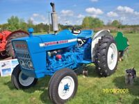 Tractor Ford Force 3000