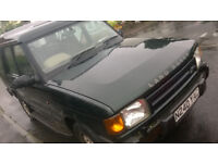 LANDROVER DISCOVERY TDI AUTO 2.5L - TOW BAR - N REG - GREEN - LOW MILEAGE 117K