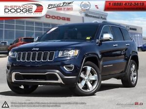 2016 Jeep Grand Cherokee LIMITED|VC 8.4 UCONNECT|PWR SUNROOF|SIR