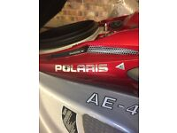 Polaris Jetski, 2004, approx 80 hours use. Jet drive rebuilt last year at cost of £850,